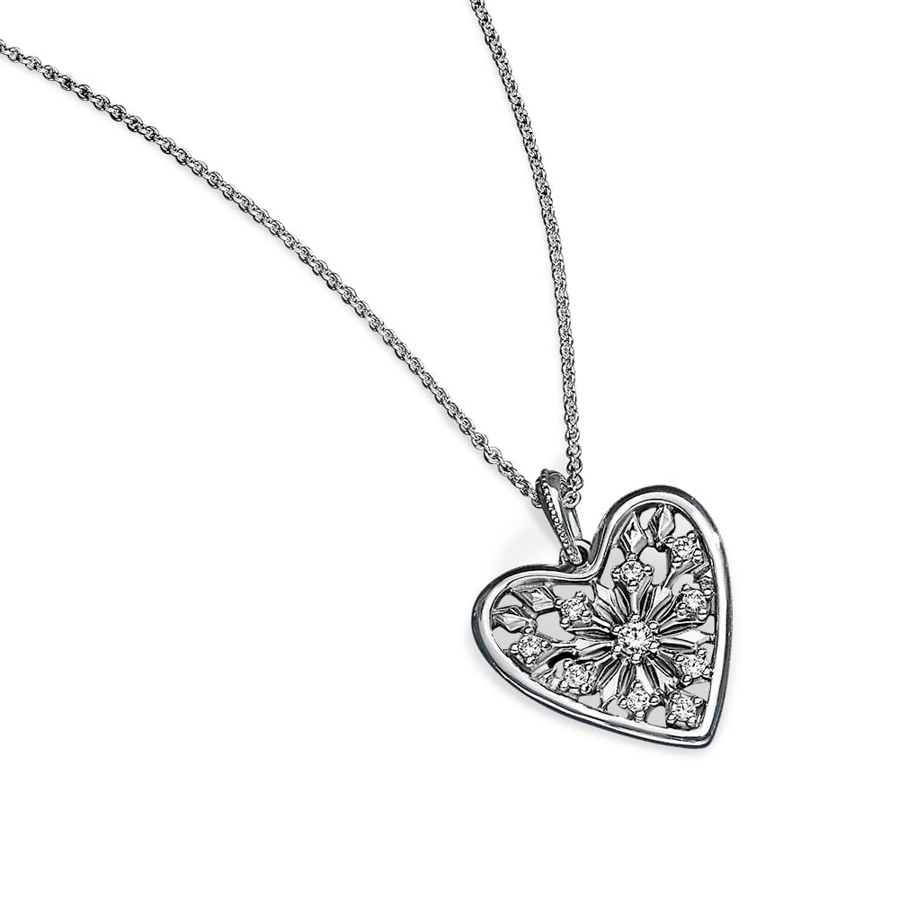 Hearts of Winter Necklace, $149.