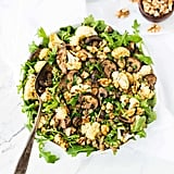 Lentil Salad With Roasted Cauliflower and Mushrooms
