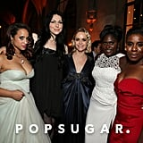 Dascha Polanco, Laura Prepon, Taryn Manning, Danielle Brooks, and Uzo Aduba got together for a group snap.