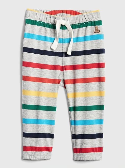 Crazy Stripe Pull-On Pants