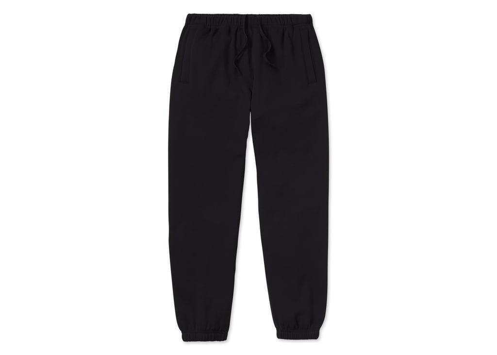 Loop Back Sweatpants in Black