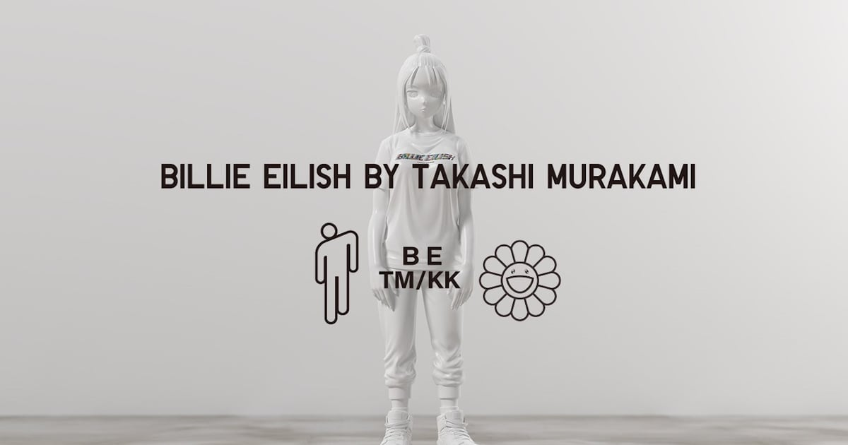 Billie Eilish and Takashi Murakami Made Some Insanely Cool T-Shirts For Uniqlo