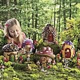 Fairy Village Houses and Fairies