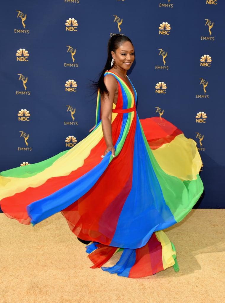 Tiffany Haddish Was Rainbow Bright at the Emmys