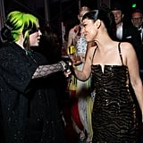 Billie Eilish and Alexa Demie at the Vanity Fair Oscars Party