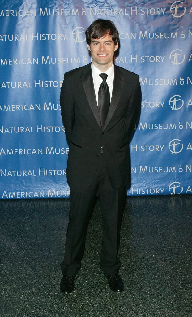 Bill Hader gave a full view of his suit.