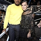 Chance The Rapper and Millie Bobby Brown