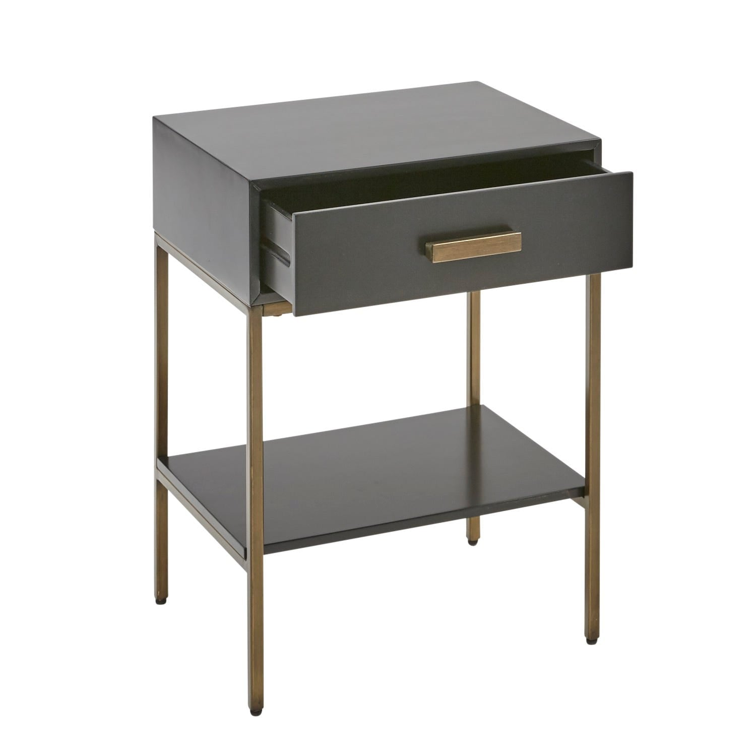 Katy Black And Gold Nightstand Small Space Cramping Your Style This Pier 1 Furniture Is Fit For A Tight Squeeze Popsugar Home Photo 36