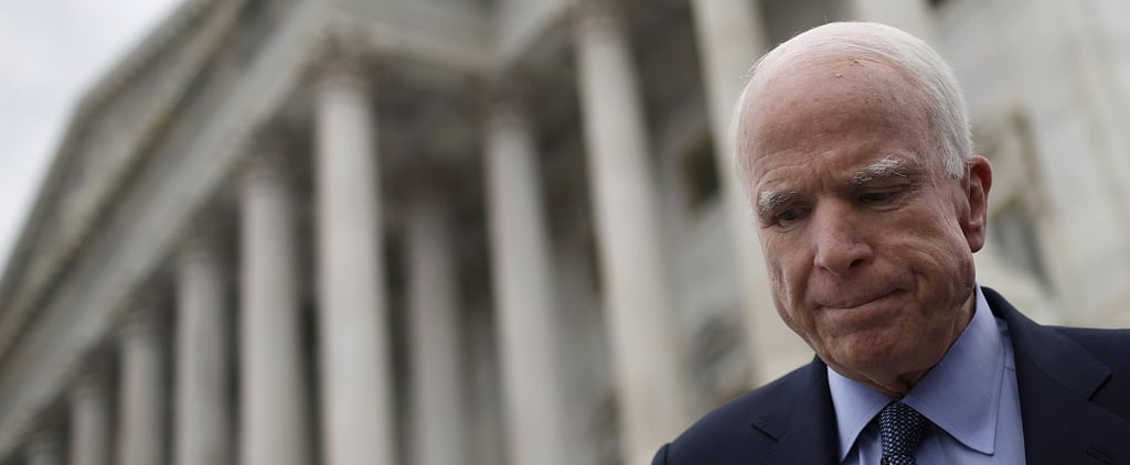 John McCain Gets an Outpouring of Bipartisan Support in Wake of Brain Cancer Diagnosis