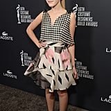 Kiernan Shipka at the Costume Designers Guild Awards
