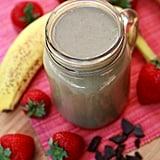 Banana Chocolate Strawberry Smoothie