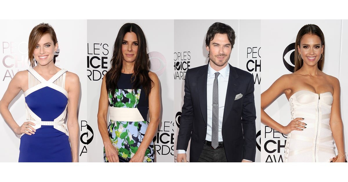 Celebrities At The People's Choice Awards 2014
