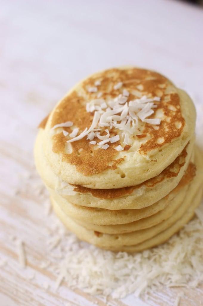 Coconut flour pancakes paleo pancake recipes popsugar fitness coconut flour pancakes ccuart Gallery