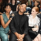 Will Smith and Willow Smith at Paris Fashion Week July 2016