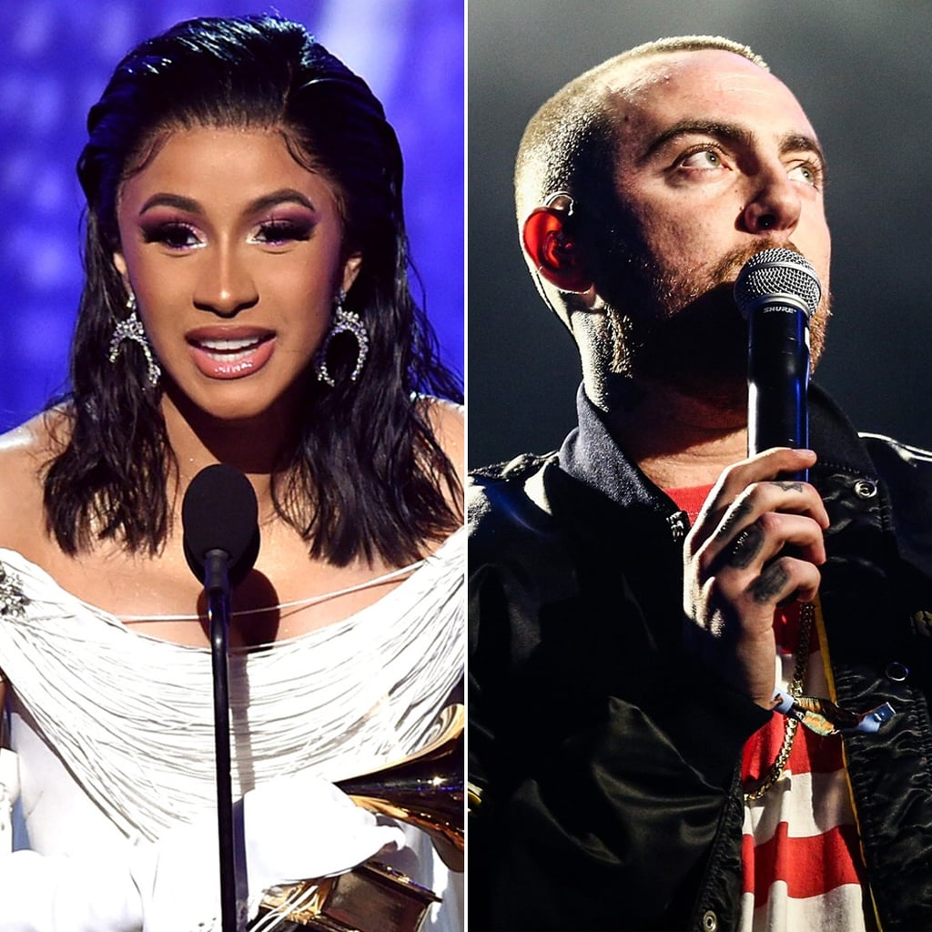 Cardi B Dedicates Grammy to Mac Miller 2019