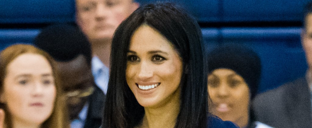 Meghan Markle Straight Hair September 2018