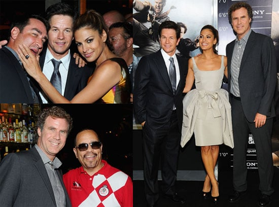 Eva Mendes, Brooke Shields, Jimmy Fallon, Will Ferrell and Mark Wahlberg at the NYC Premiere of The Other Guys