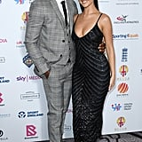 Siânnise and Luke T at the 2020 British Ethnic Diversity Sports Awards