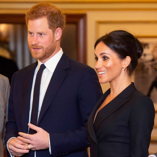 Prince Harry and Meghan Markle at Hamilton Gala August 2018
