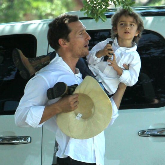 Matthew McConaughey and Camila Alves Easter Pictures 2012