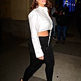 Ashley Graham Black Stilettos January 2019