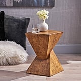 Great Deal Furniture Jerod Light-Weight Concrete Accent Table