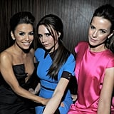 Eva Longoria, Victoria Beckham, and Kate Beckinsale hung out at Beso.