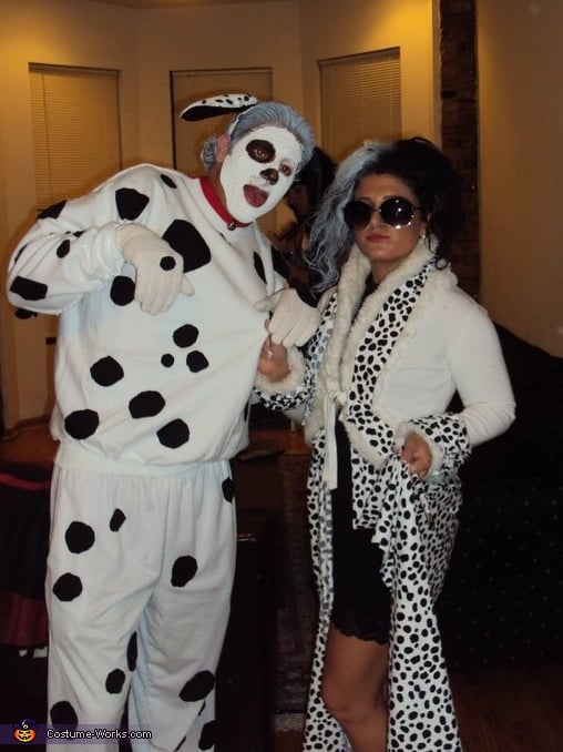Cruella de Vil and Spot From 101 Dalmatians