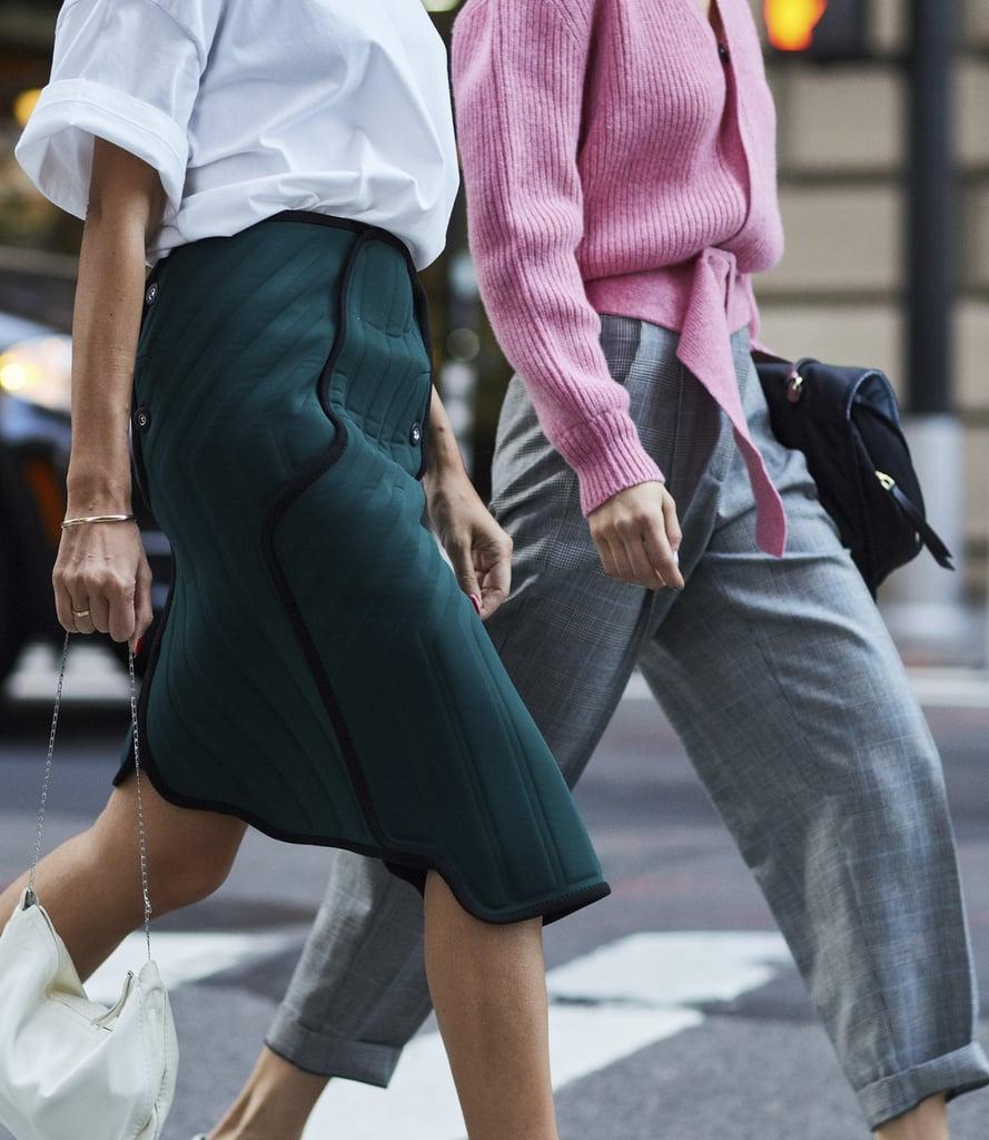 Shop Zara Leather Mid Heel Mules Online