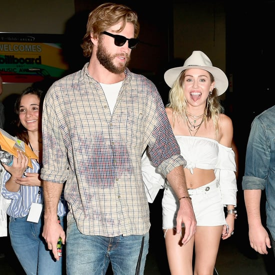Miley Cyrus and Liam Hemsworth 2017 Billboard Music Awards