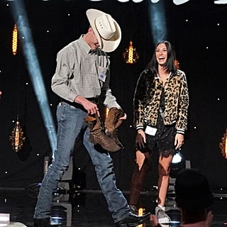 Luke Bryan Gives American Idol Contestant His Shoes 2019