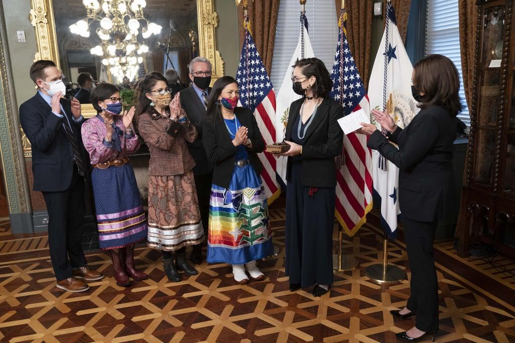 Secretary of the Interior Deb Haaland, First Native American to Serve as a Cabinet Secretary