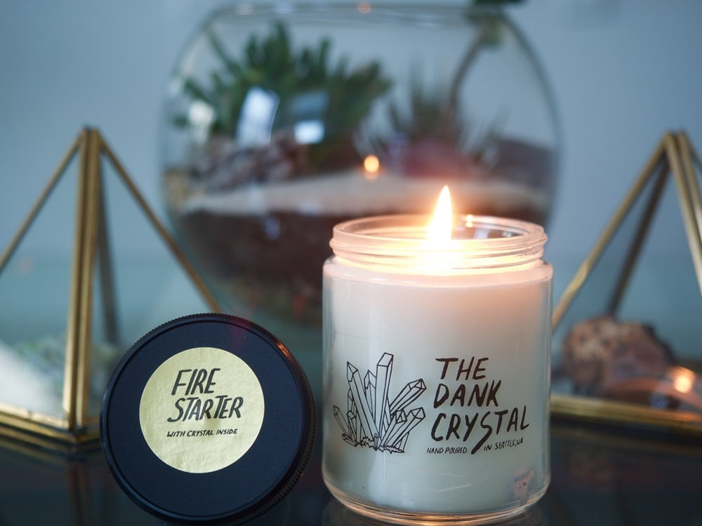Sandalwood and Coconut Fire Starter Candle ($14)