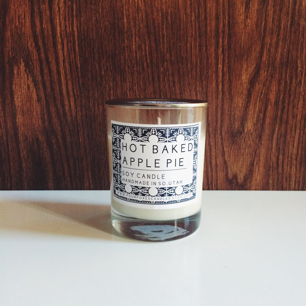 Hot baked apple pie candle ($16)