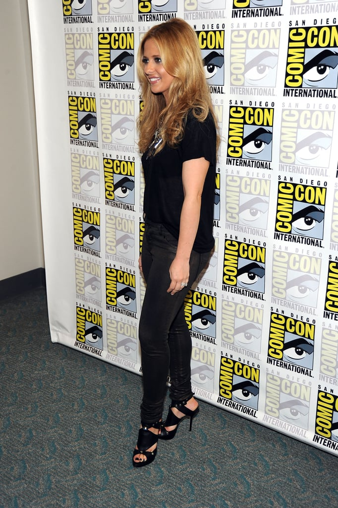 Sarah Michelle Gellar was on hand for Comic Con in San Diego yesterday.