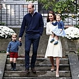 More Photos of Kate Middleton and Prince William's Kids