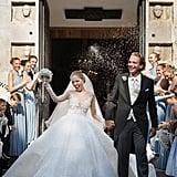 Victoria Swarovski's Michael Cinco Wedding Dress