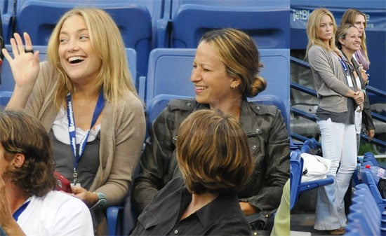 Photos of Kate Hudson, Jennifer Meyer, and Sara Foster at the Countrywide Classic Tennis Tournament