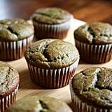 Banana Spinach Smoothie Muffins