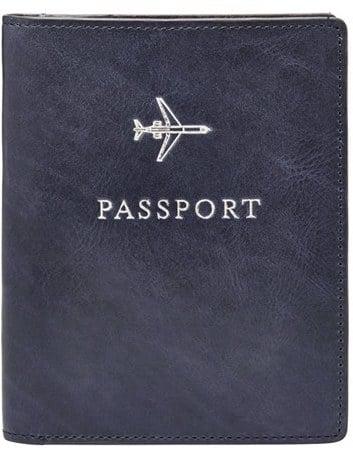 Fossil Passport Case