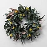Faux Olive Leaf & Crespedia Wreath