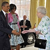 In 2011, Barack and Michelle received a warm welcome from Queen Elizabeth II upon arriving for their two-day state visit in London.