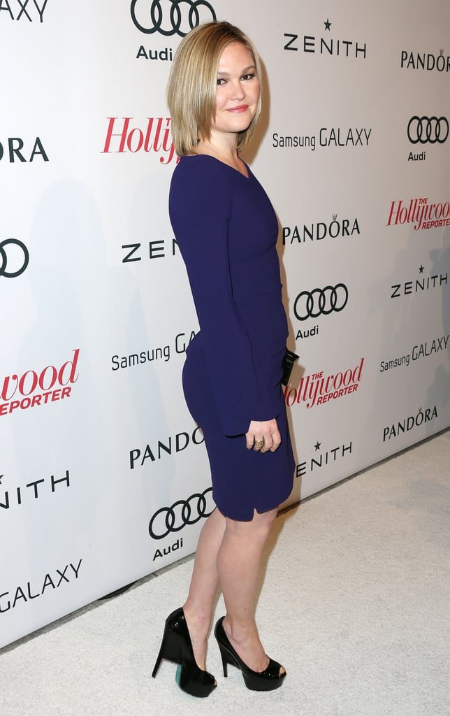 Julia Stiles arrived at the event.