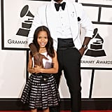 Tyrese had the cutest date at the Grammys: his daughter, Shayla Gibson.