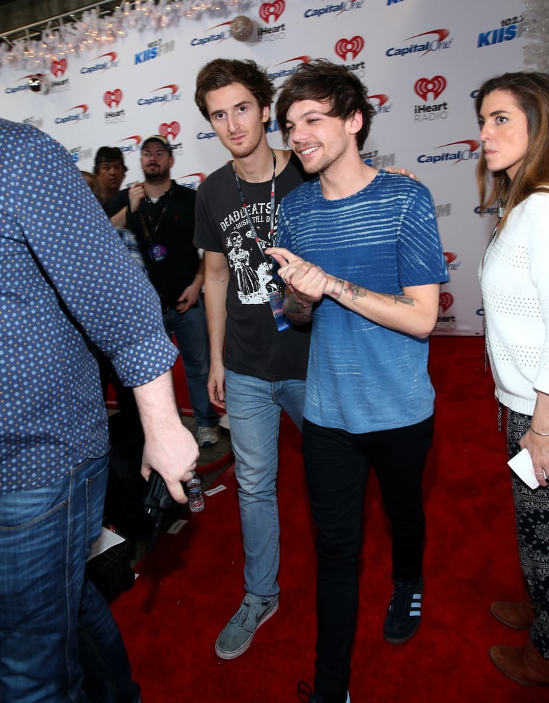 Louis Tomlinson at Jingle Ball in LA in 2015