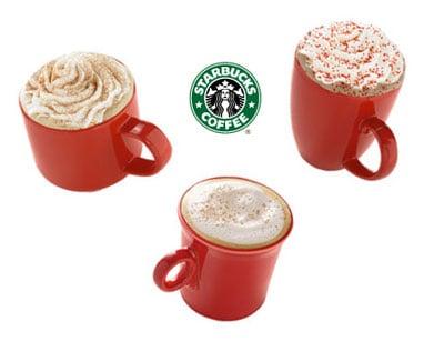 Starbucks Holiday Drinks Breakdown