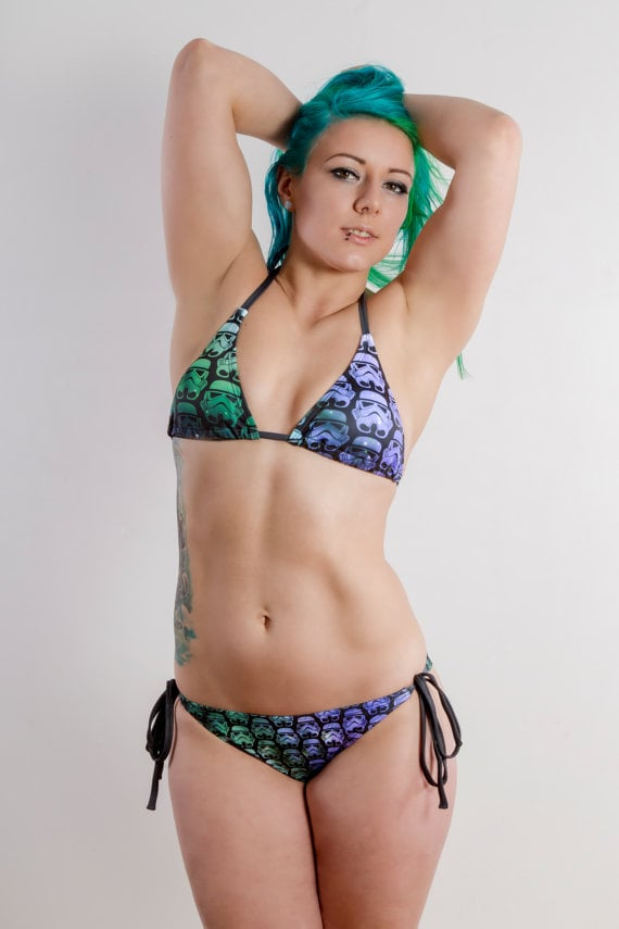 Stormtrooper Bikini ($65)