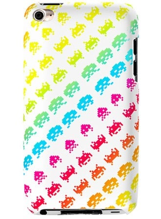 Neon Space Invaders iPhone case ($42)