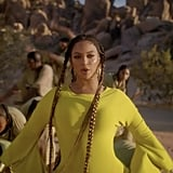 "Beyoncé's Long Braided Hair in ""Spirit"" Music Video"