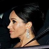Meghan's Diamond Drop Earrings